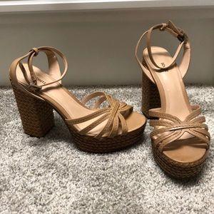 Schutz Hortencia Platform Sandal